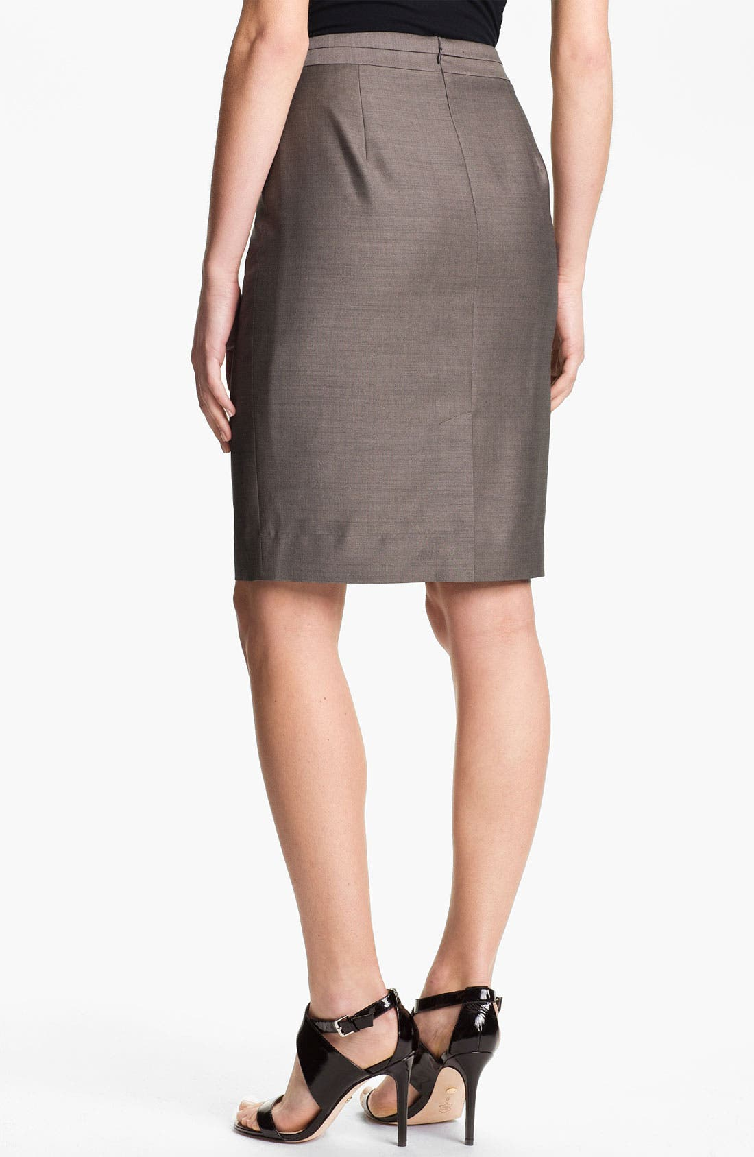 Alternate Image 2  - Classiques Entier 'Tiverton' Suiting Pencil Skirt