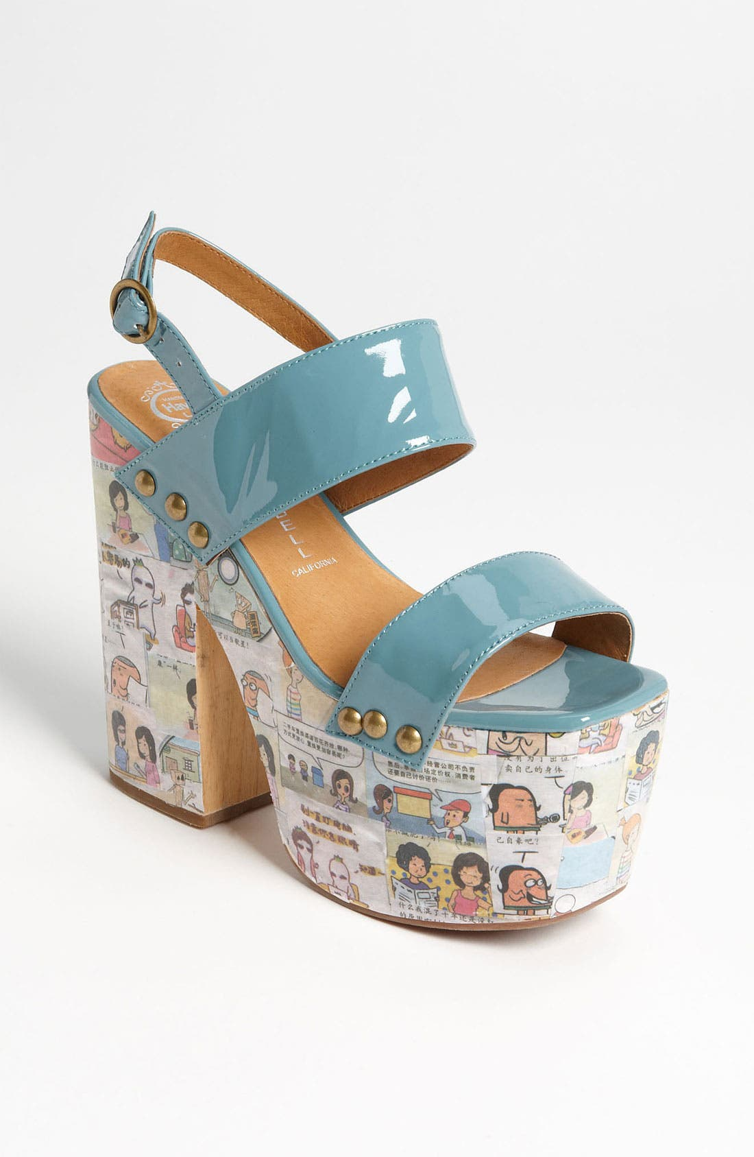Alternate Image 1 Selected - Jeffrey Campbell 'Newsies' Sandal