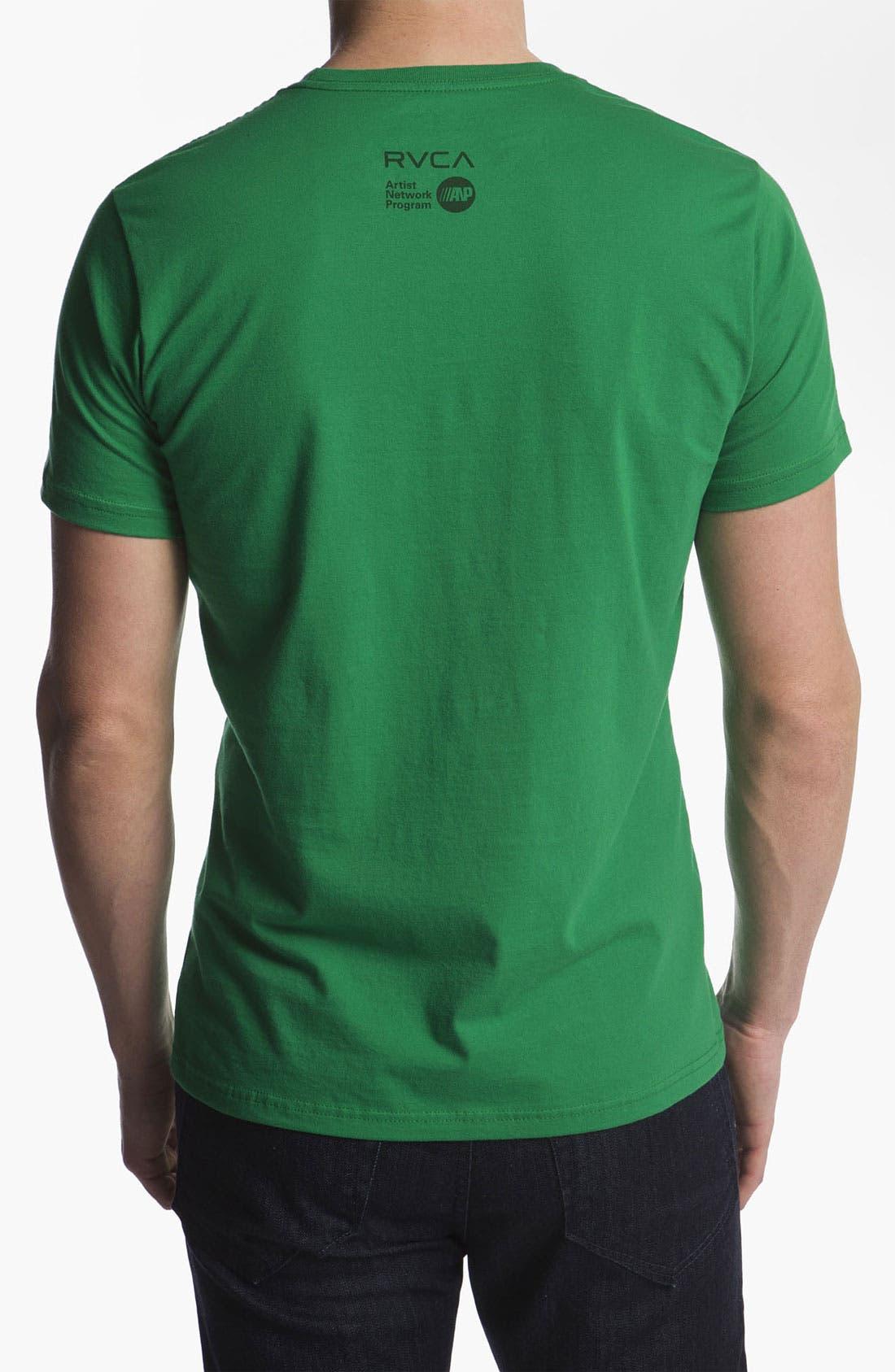 Alternate Image 2  - RVCA 'Goo' T-Shirt