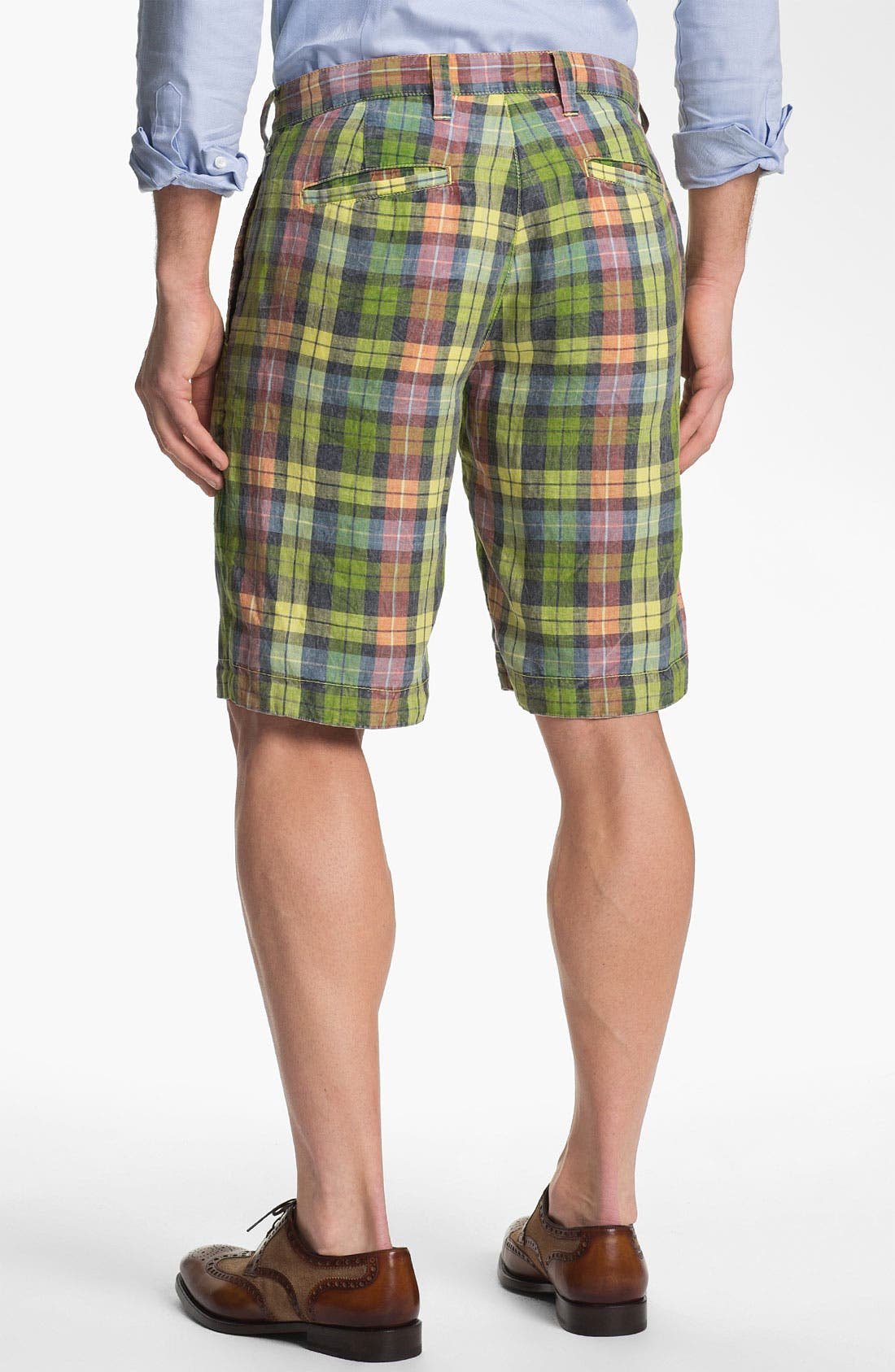 Alternate Image 3  - Tailor Vintage Reversible Linen Shorts