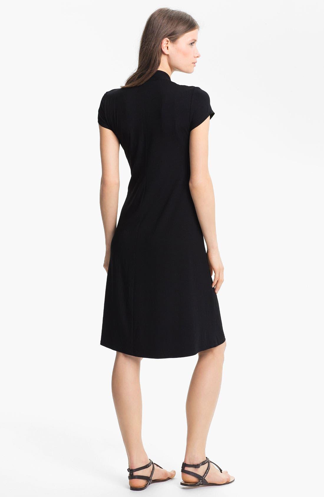 Alternate Image 2  - Eileen Fisher Knit Fit & Flare Dress