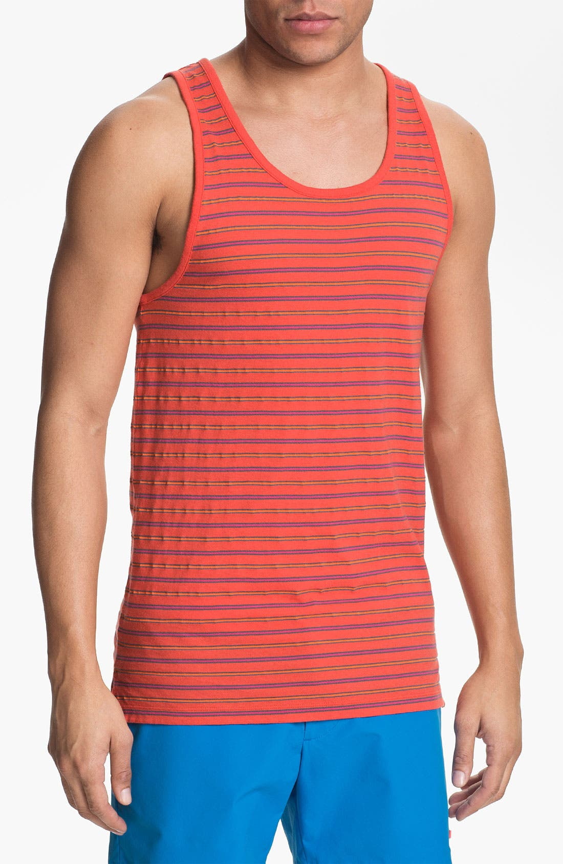 Alternate Image 1 Selected - MARC BY MARC JACOBS 'Richard' Stripe Tank Top