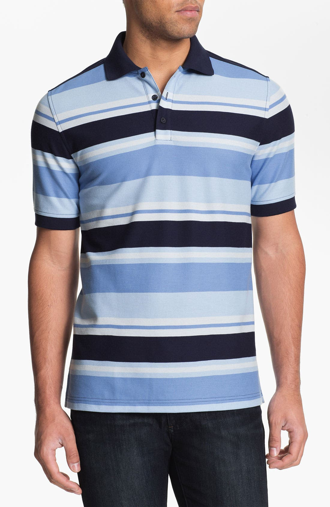 Alternate Image 1 Selected - Nordstrom Stripe Polo