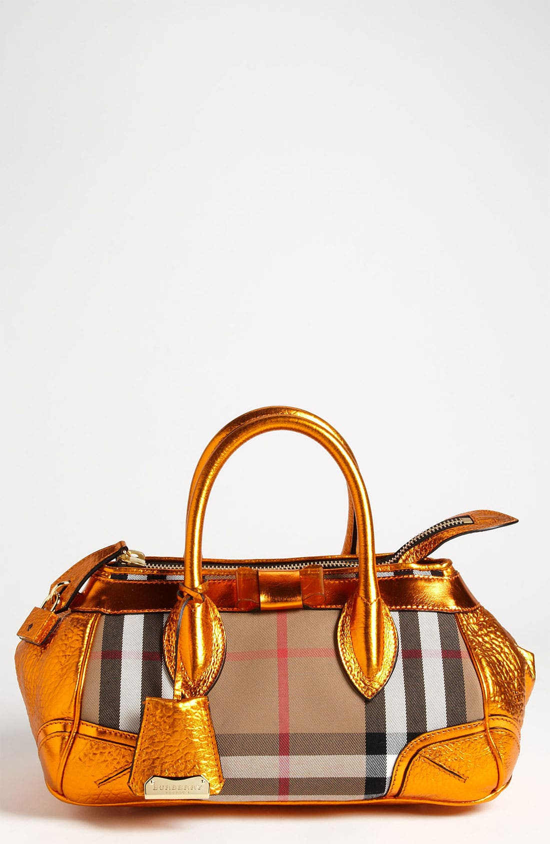 Alternate Image 1 Selected - Burberry Prorsum 'Blaze' House Check Handbag