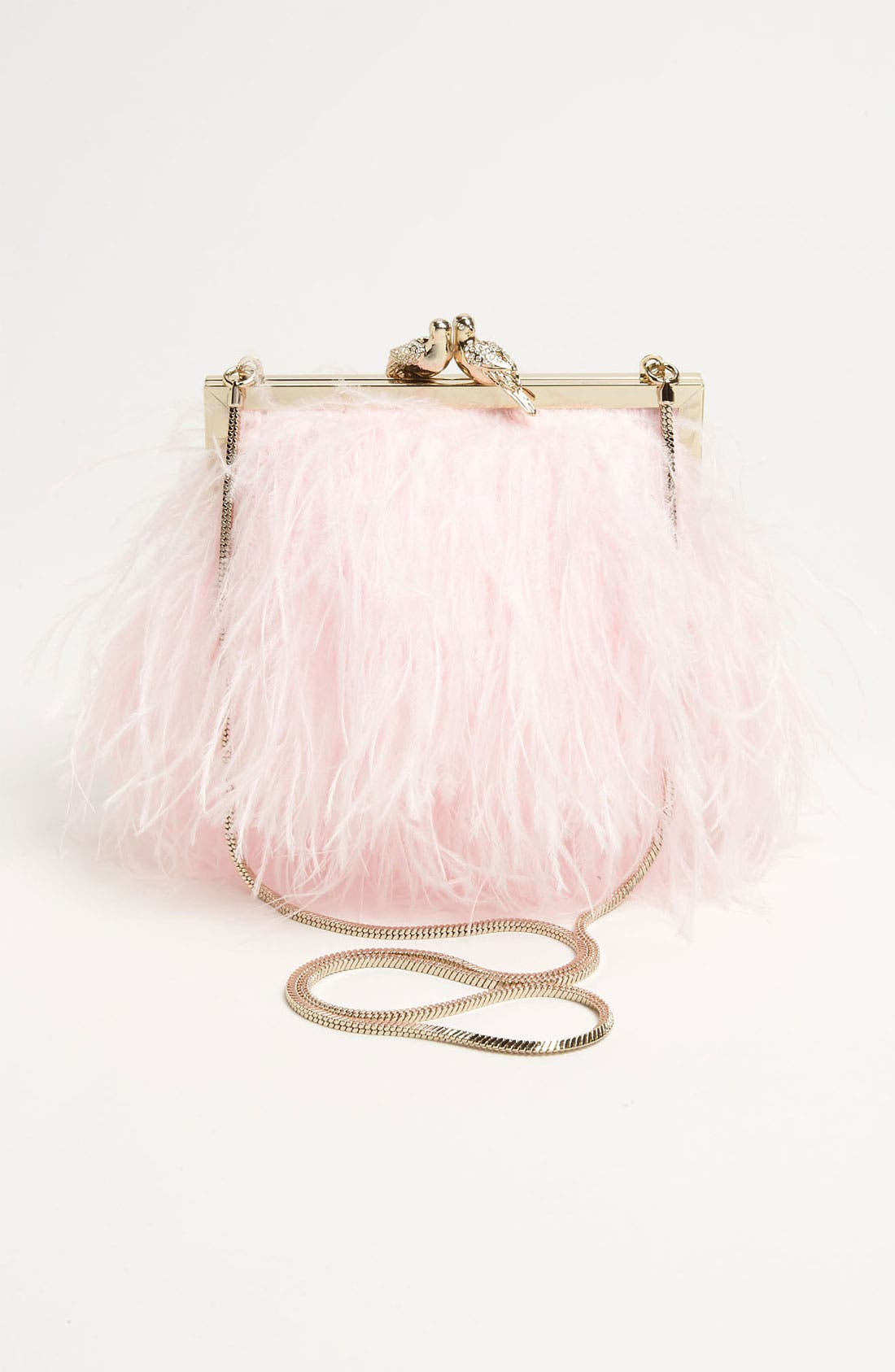 Alternate Image 4  - kate spade new york 'belle elliana' feather clutch