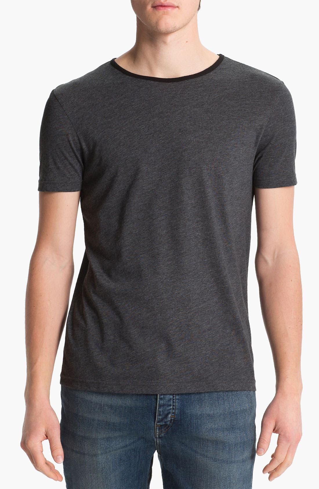 Alternate Image 1 Selected - Topman Marled T-Shirt