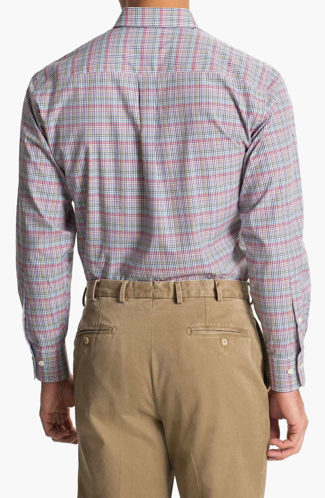 Alternate Image 2  - Peter Millar 'Cypress' Regular Fit Sport Shirt