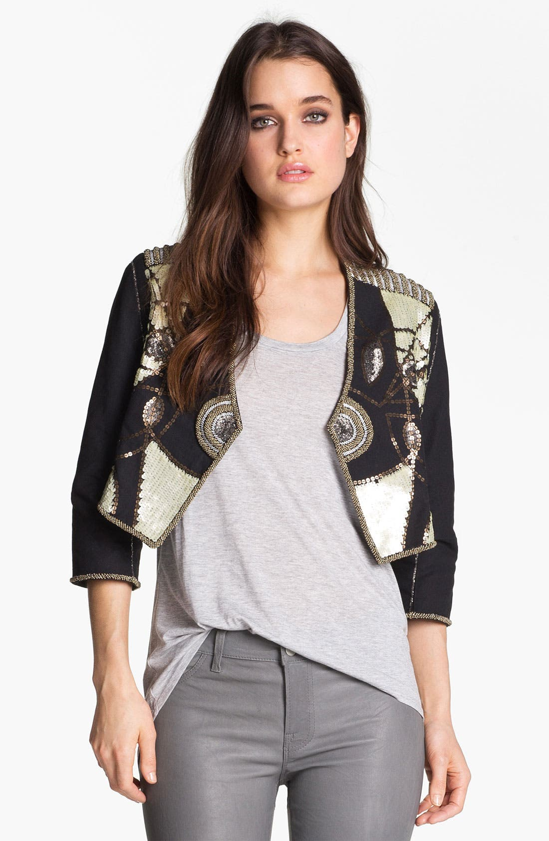 Alternate Image 1 Selected - ELEVENPARIS 'Dali' Embellished Jacket