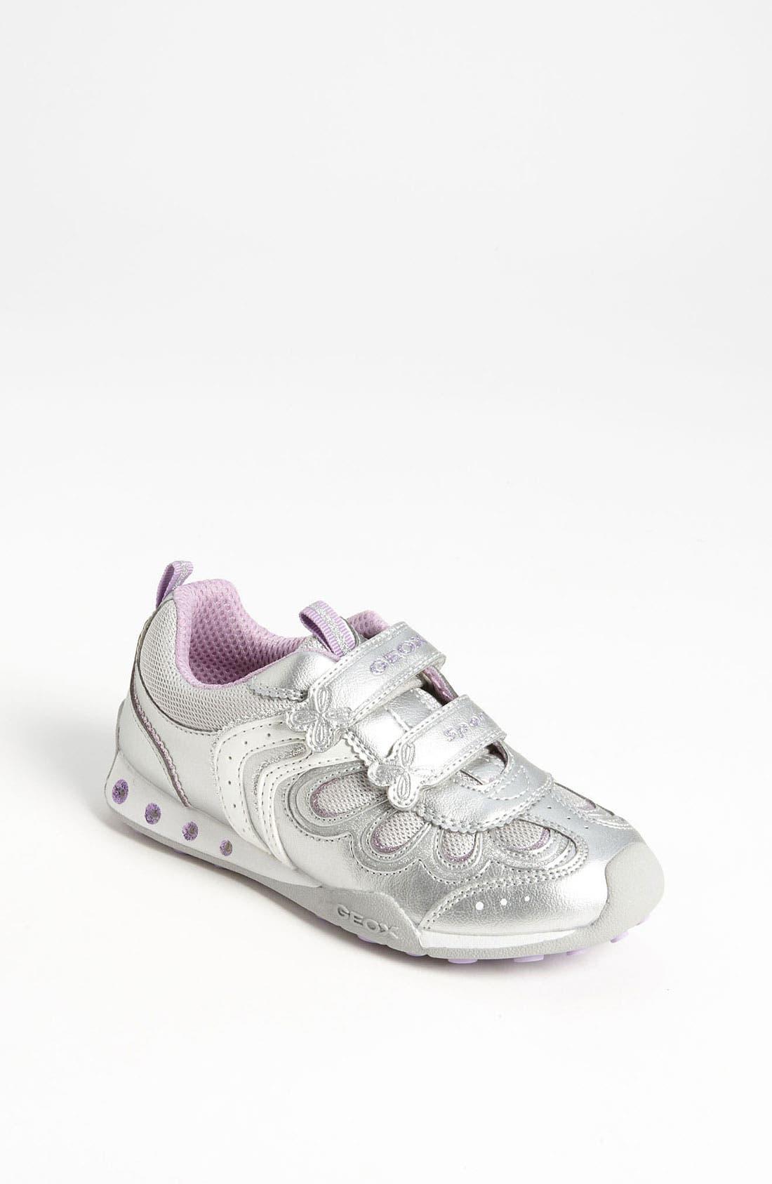 Alternate Image 1 Selected - Geox Junior 'New Jocker' Sneaker (Toddler & Little Kid)