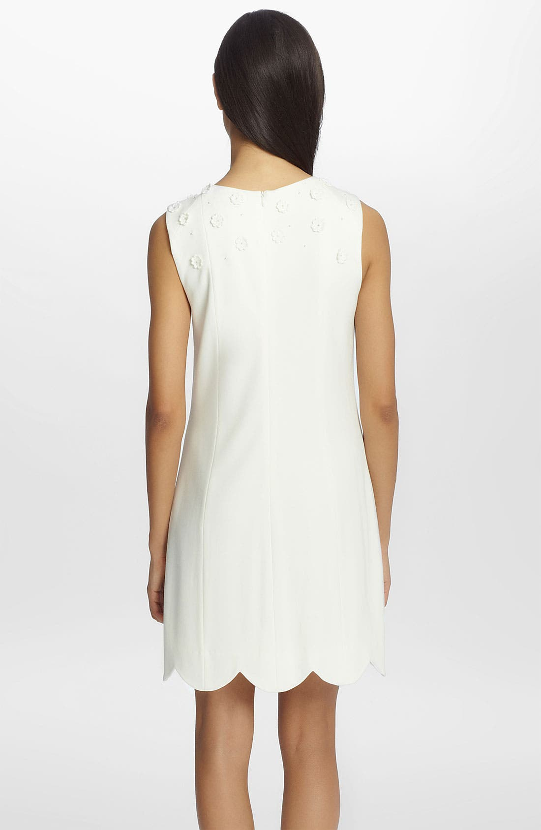 Alternate Image 2  - Cynthia Steffe 'Scarlett' Embroidered Ponte Knit Shift Dress