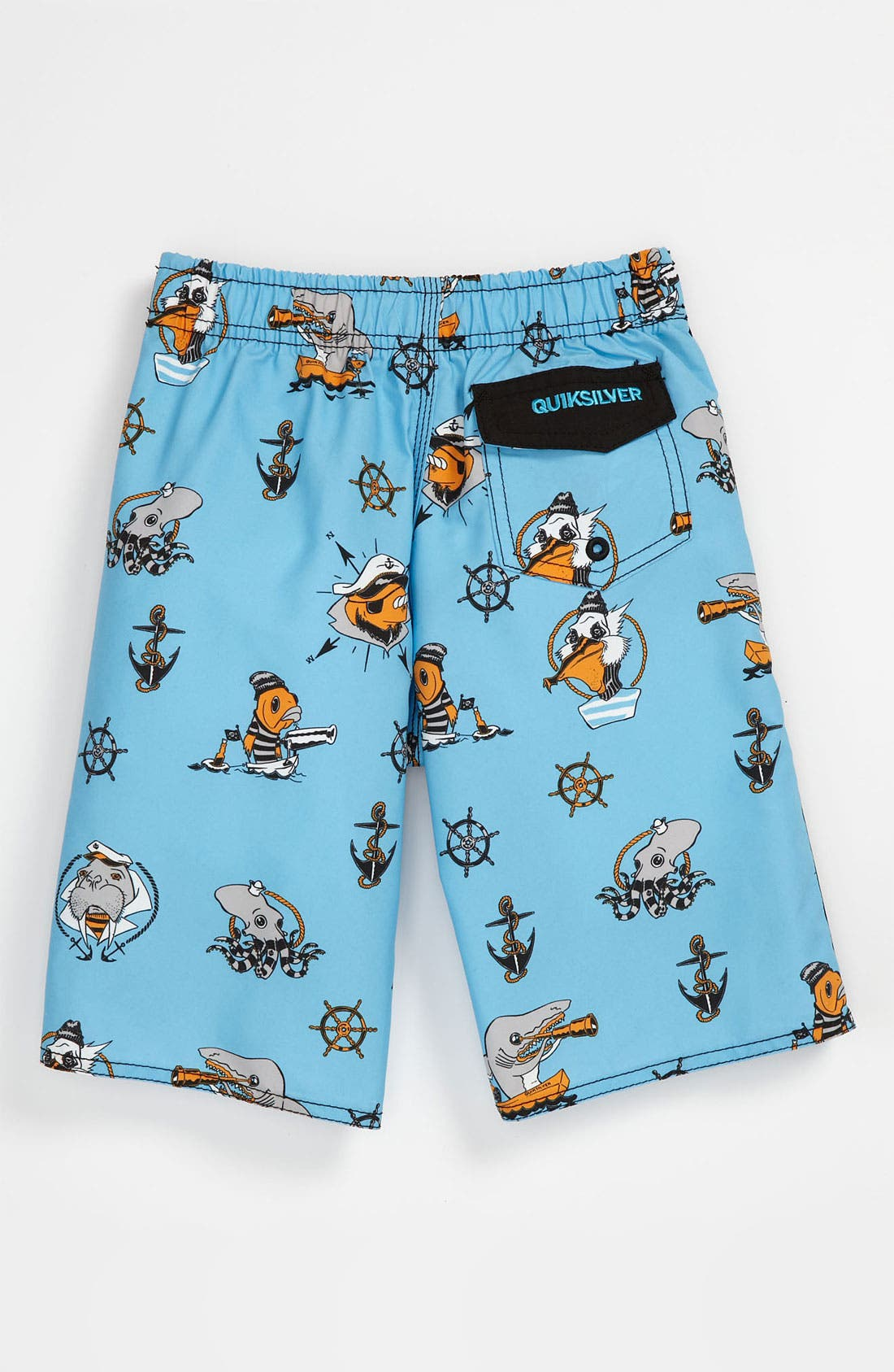Alternate Image 2  - Quiksilver 'Briny Deep' Board Shorts (Little Boys)