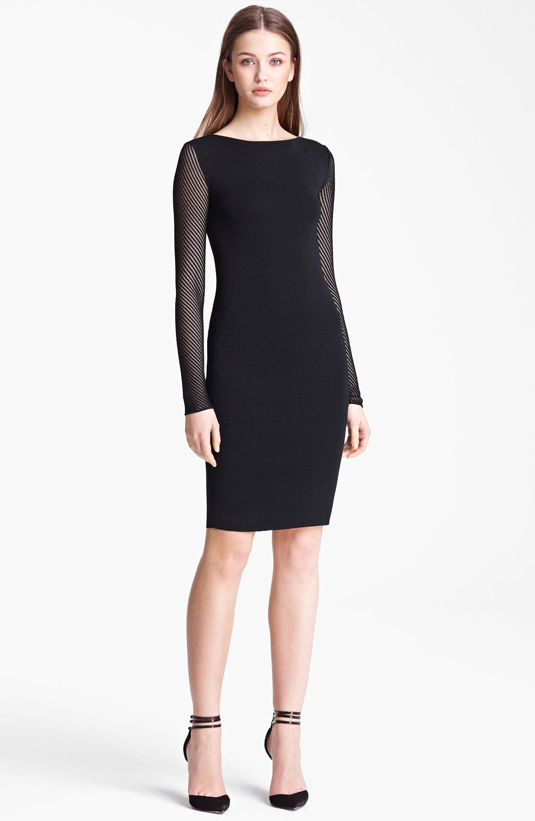 Main Image - Emilio Pucci Mesh Sleeve Dress