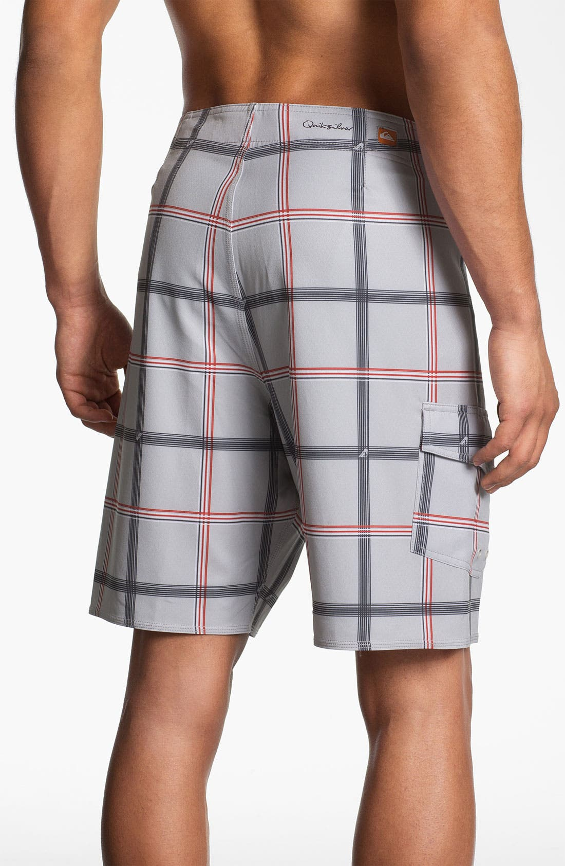 Alternate Image 2  - Quiksilver Waterman Collection 'Square Root' Board Shorts