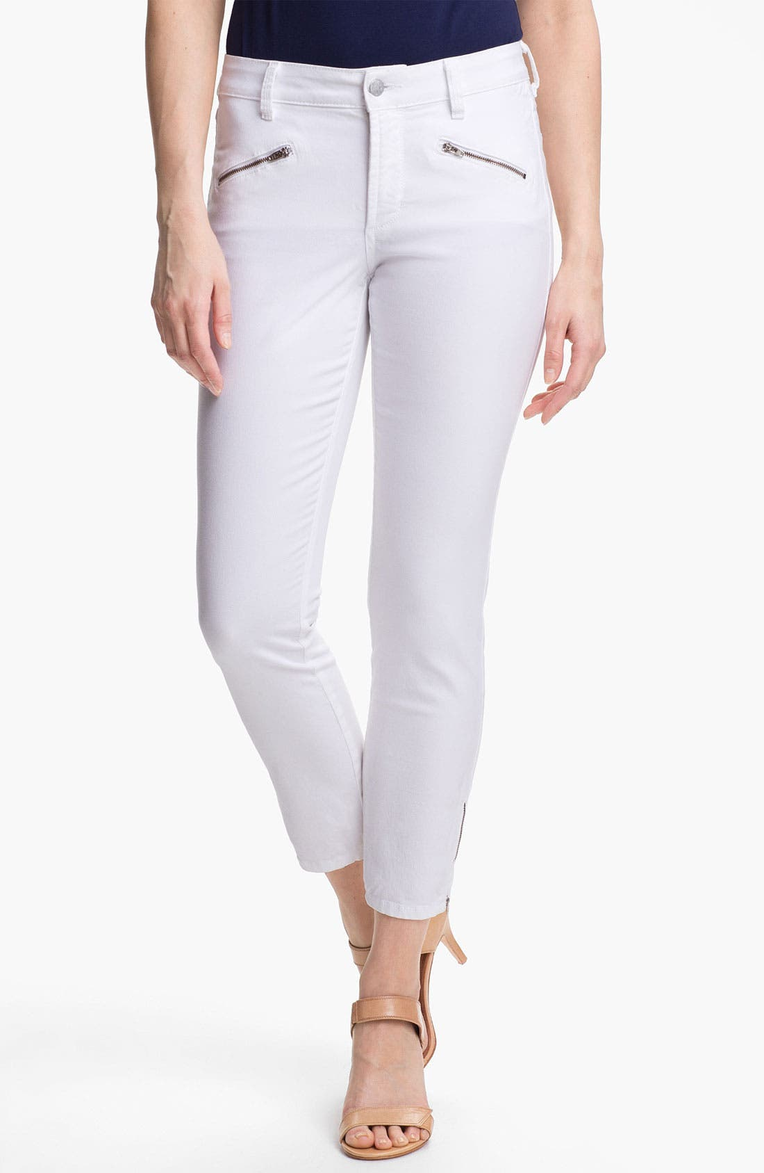 Alternate Image 1 Selected - NYDJ 'Angelina' Stretch Denim Leggings (Regular & Petite)