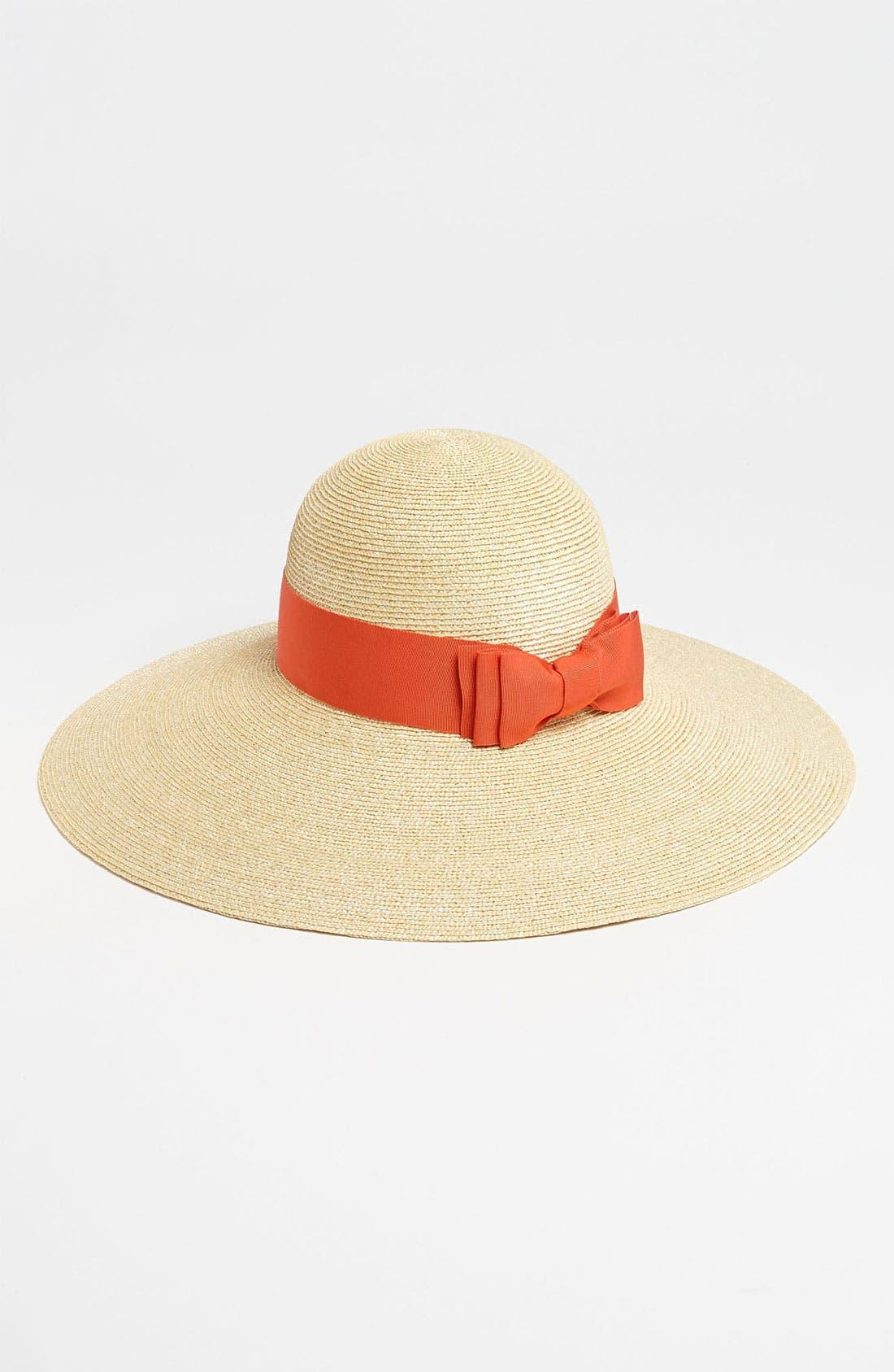 Alternate Image 1 Selected - Lanvin Straw Sun Hat