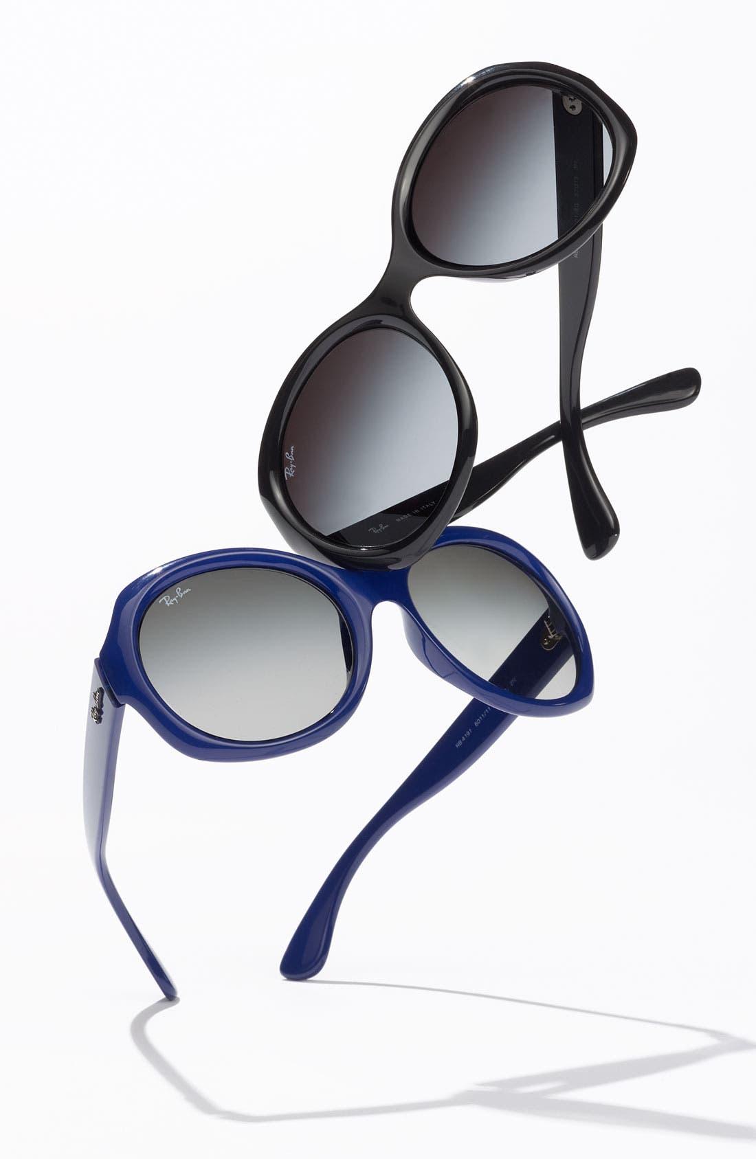 Alternate Image 2  - Ray-Ban 'Round Glamour' 56mm Polarized Sunglasses