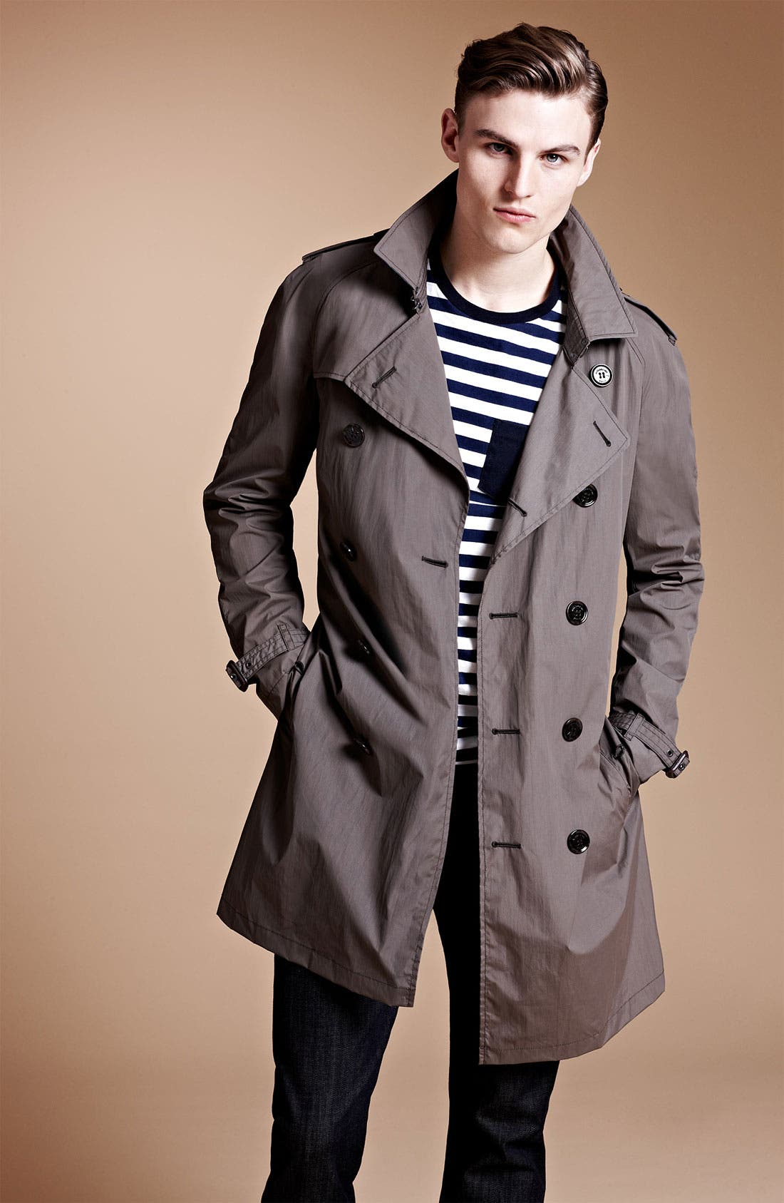 Alternate Image 4  - Burberry Brit 'Coombes' Trench Coat