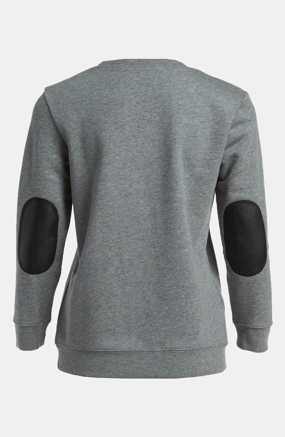 Alternate Image 2  - Tildon Elbow Patch Sweatshirt