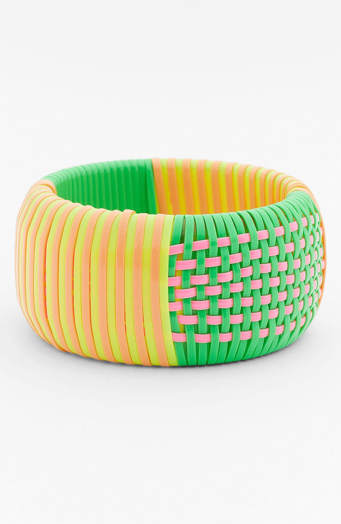 Alternate Image 1 Selected - MARC BY MARC JACOBS Wide Woven Bangle