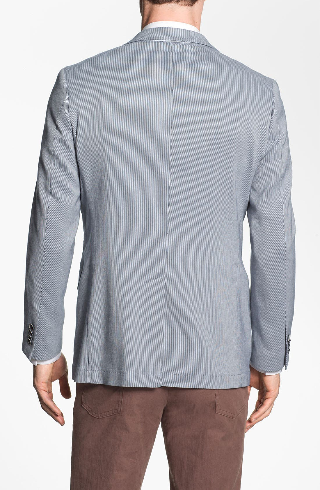 Alternate Image 2  - Michael Kors Trim Fit Cotton Blend Sportcoat