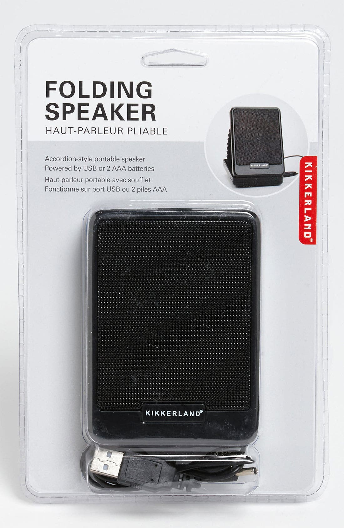 Alternate Image 1 Selected - Kikkerland Design USB Accordion Speaker