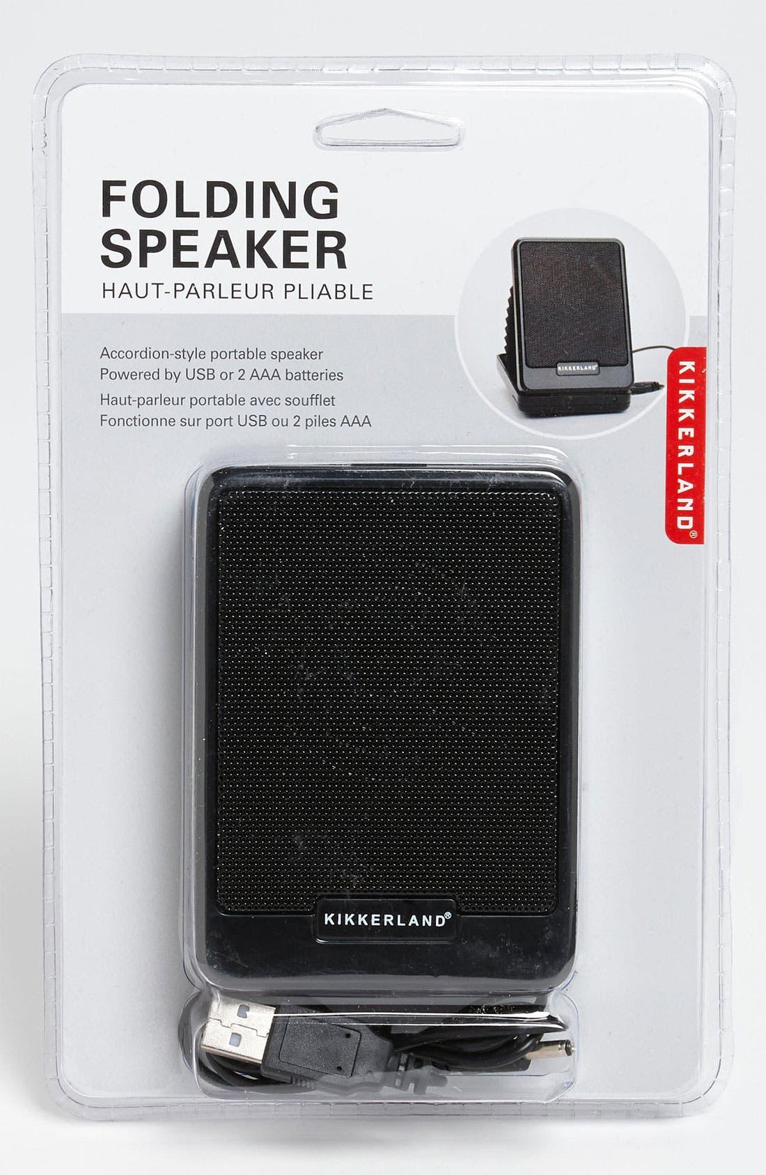 Main Image - Kikkerland Design USB Accordion Speaker
