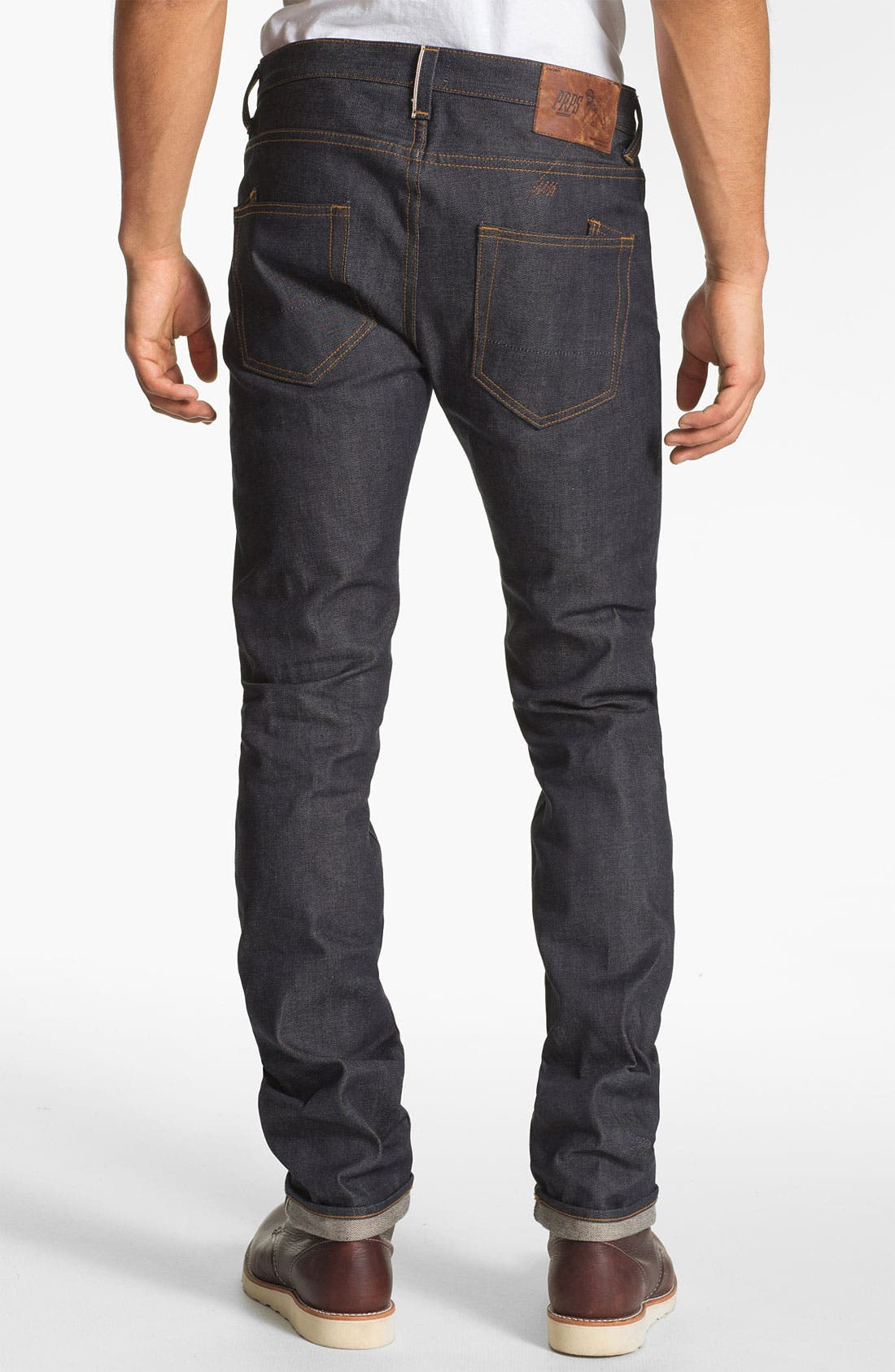 Alternate Image 1  - PRPS 'Rambler' Slim Fit Selvedge Jeans (Raw)