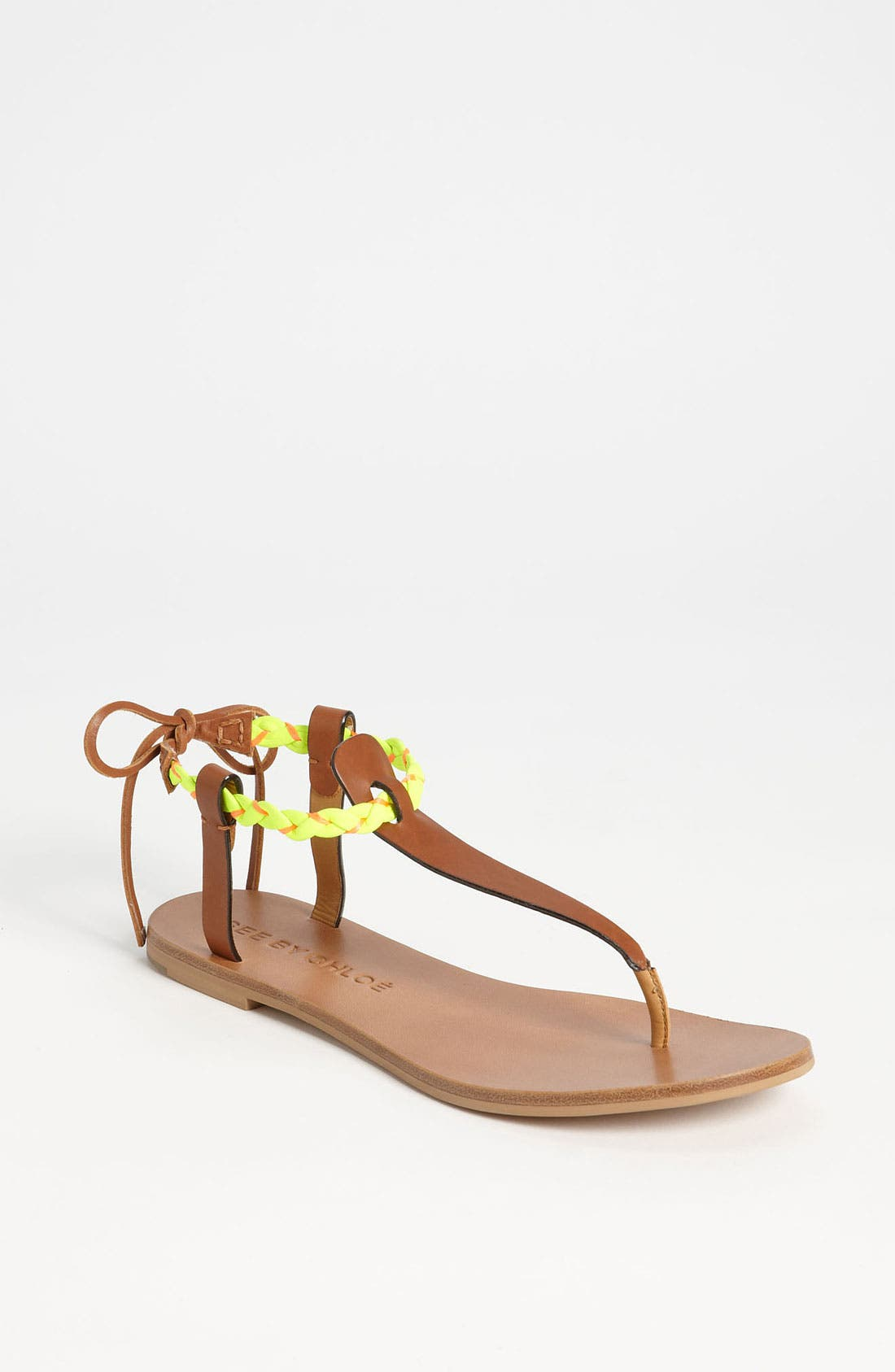 Alternate Image 1 Selected - See by Chloé 'Summer' Thong Sandal