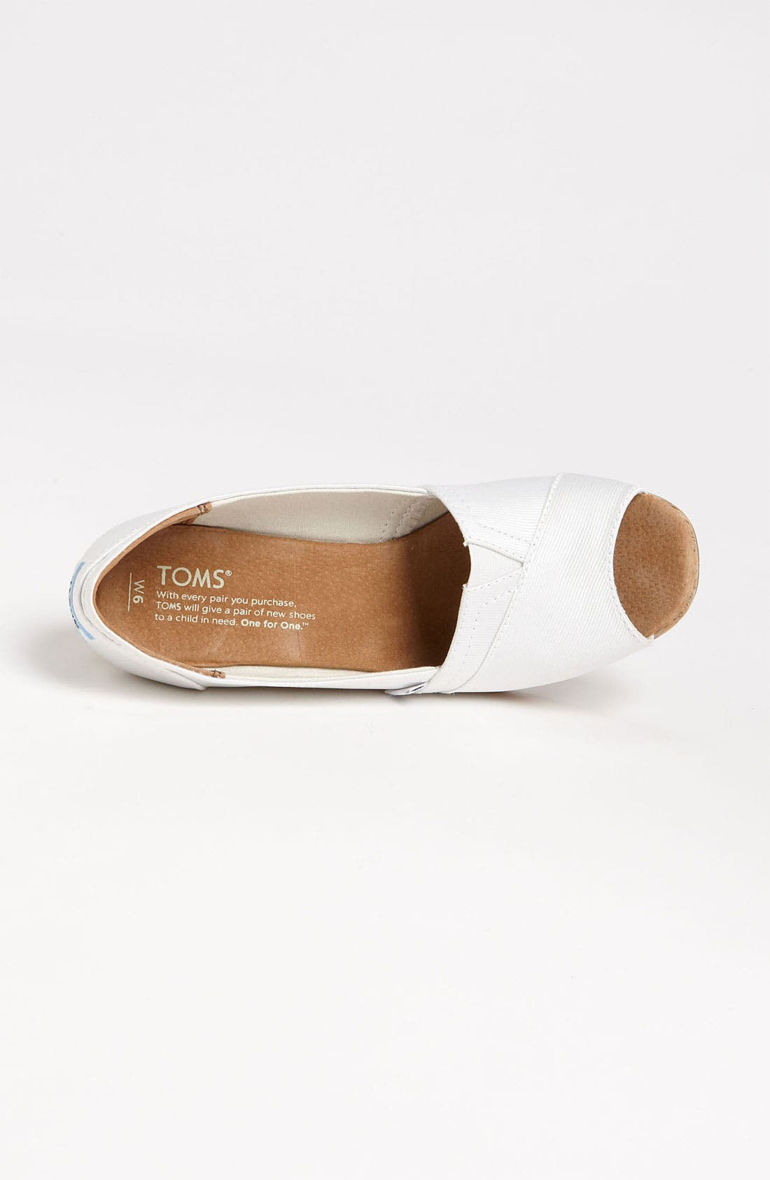 Alternate Image 3  - TOMS Grosgrain Wedge (Women)