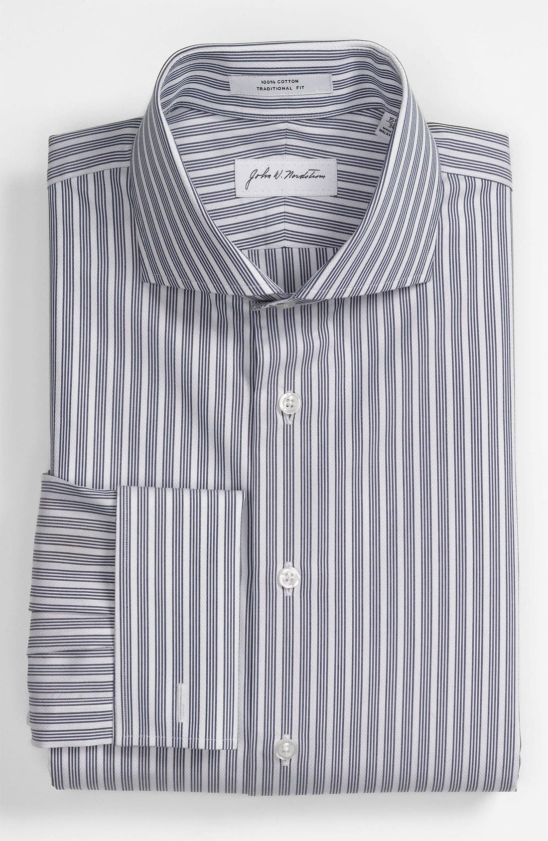 Main Image - John W. Nordstrom Traditional Fit Dress Shirt