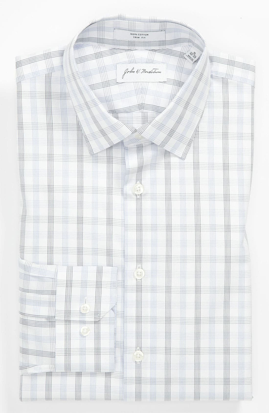 Main Image - John W. Nordstrom Trim Fit Dress Shirt