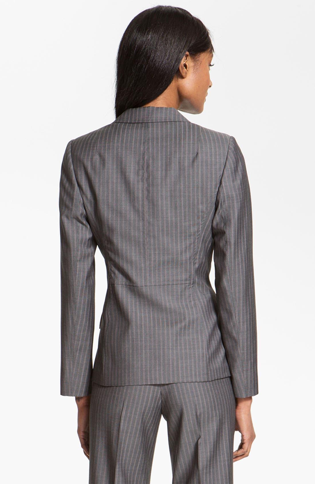 Alternate Image 2  - Santorelli 'Vicky' Wool Jacket