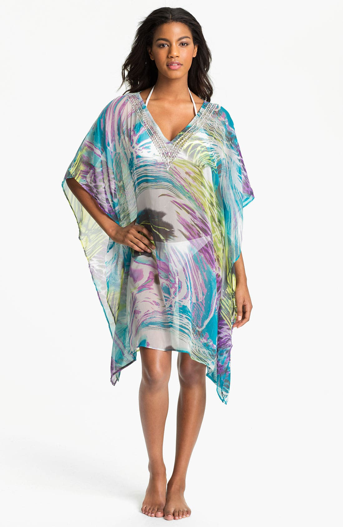 Alternate Image 1 Selected - Brazen 'Call of the Wild' Caftan