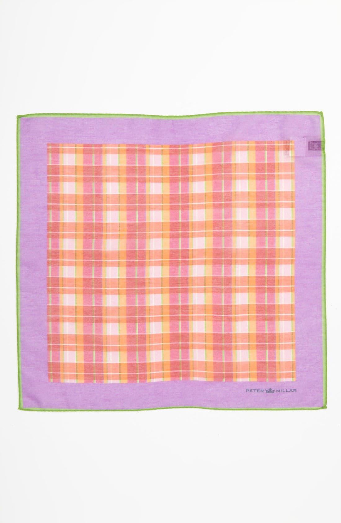 Alternate Image 2  - Peter Millar Cotton & Silk Pocket Square
