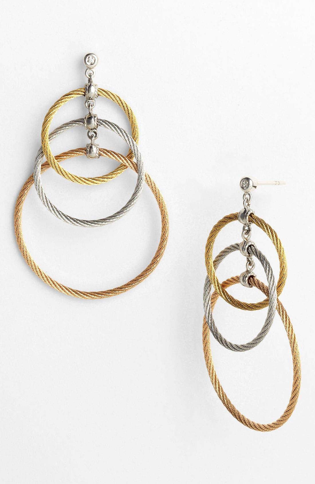 Alternate Image 1 Selected - ALOR® Tricolor Drop Earrings