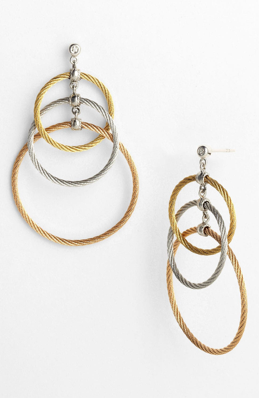 Main Image - ALOR® Tricolor Drop Earrings