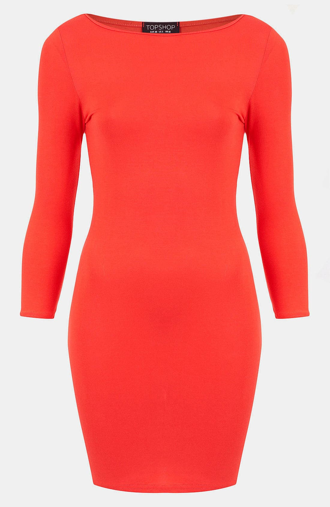 Main Image - Topshop Body-Con Dress