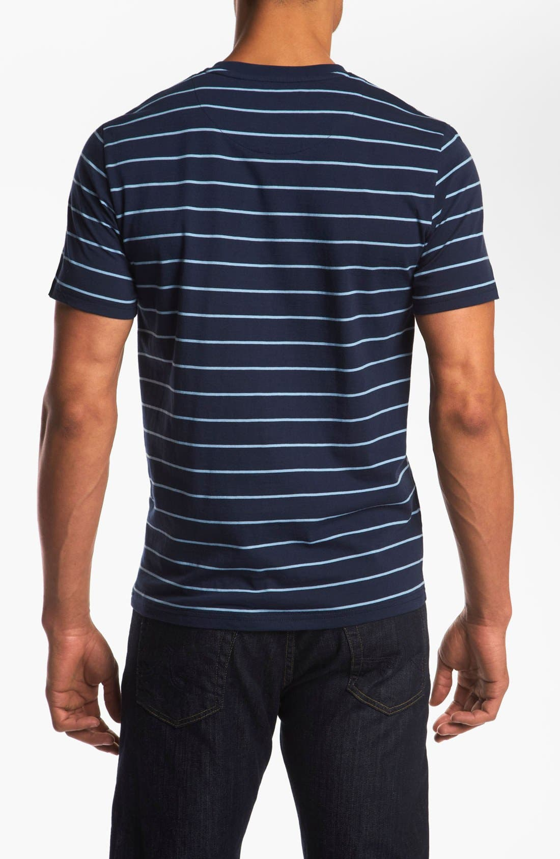 Alternate Image 2  - Fred Perry Crewneck T-Shirt