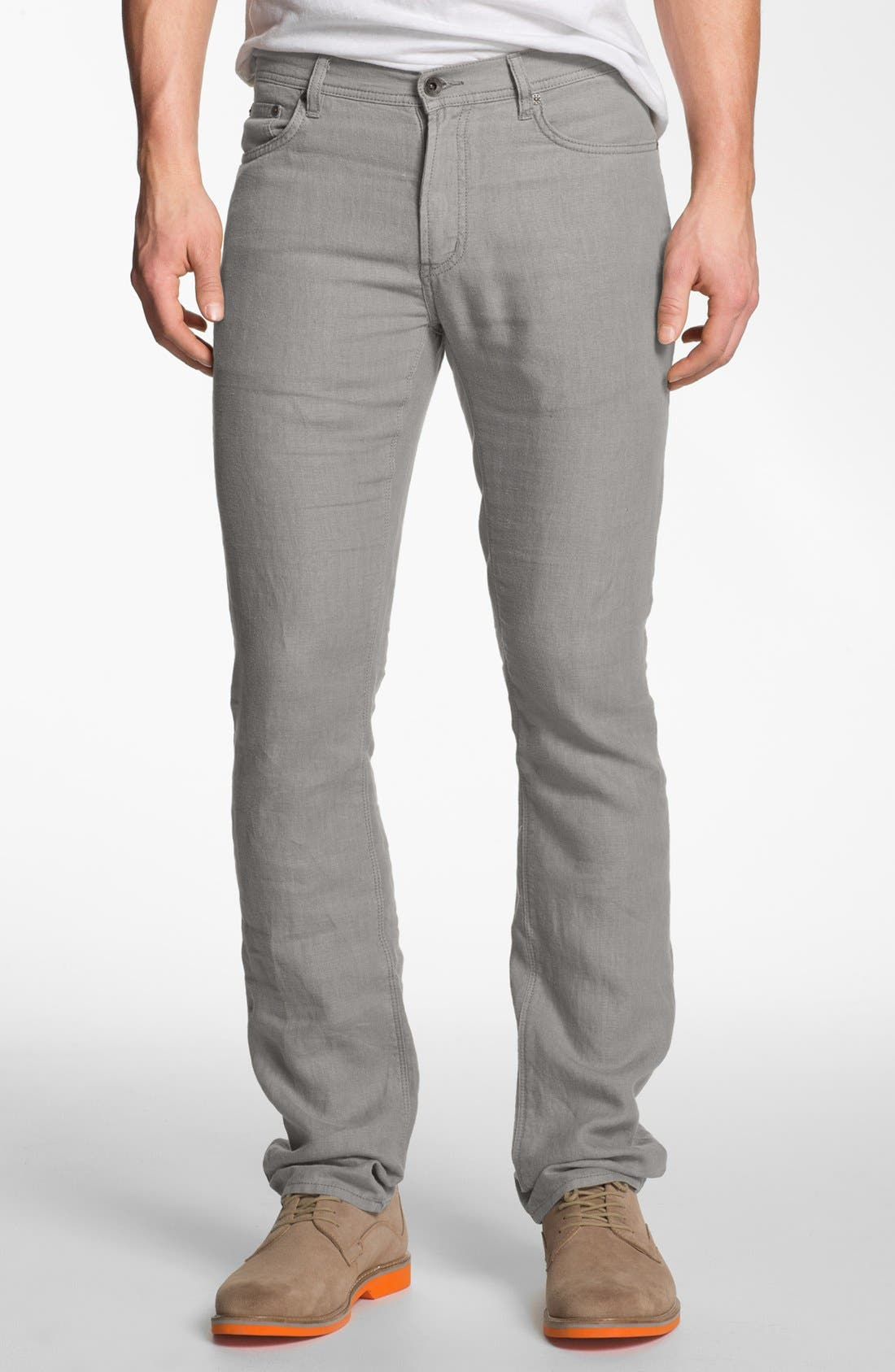 Main Image - John Varvatos Star USA Linen Pants