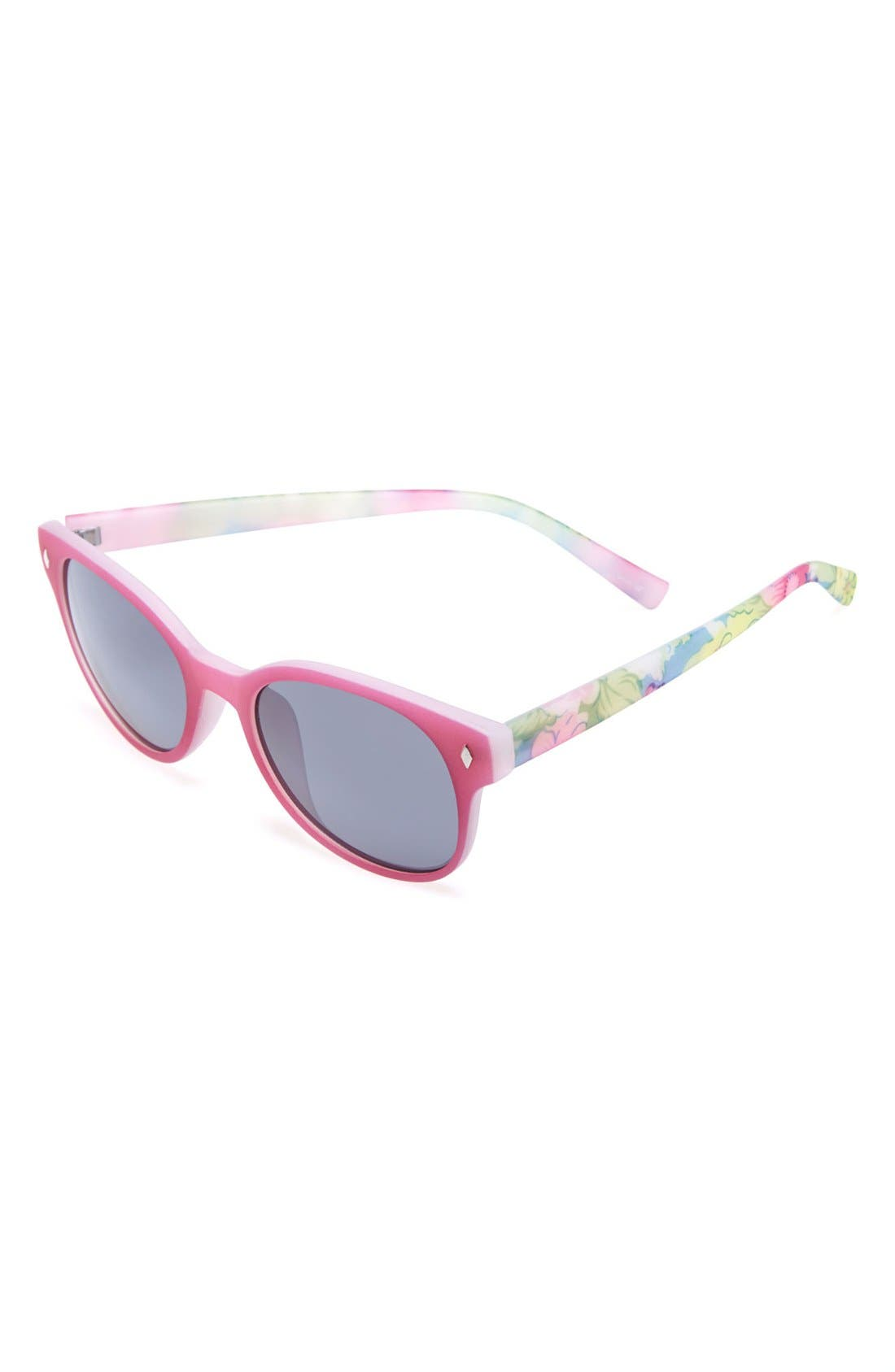 Alternate Image 1 Selected - Icon Eyewear Print Sunglasses (Girls)