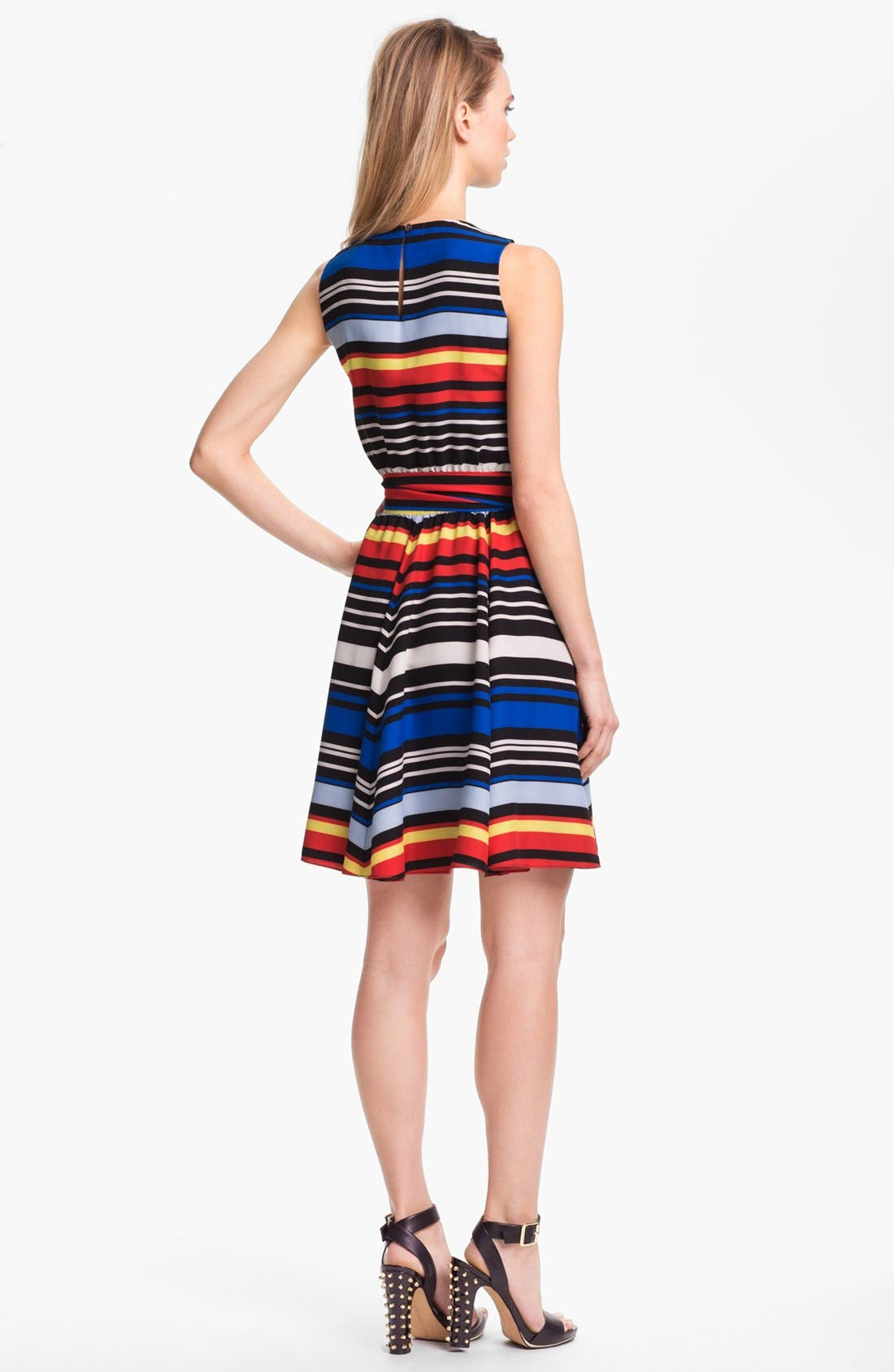 Alternate Image 2  - Vince Camuto Stripe Dress