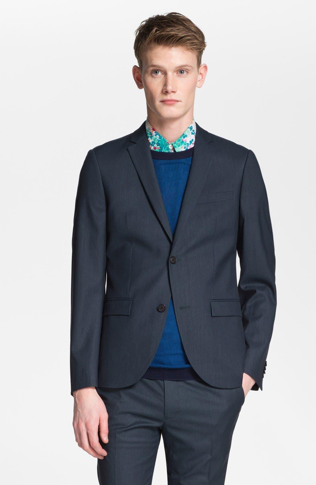 Alternate Image 1 Selected - Topman Ultra Skinny Fit Blazer