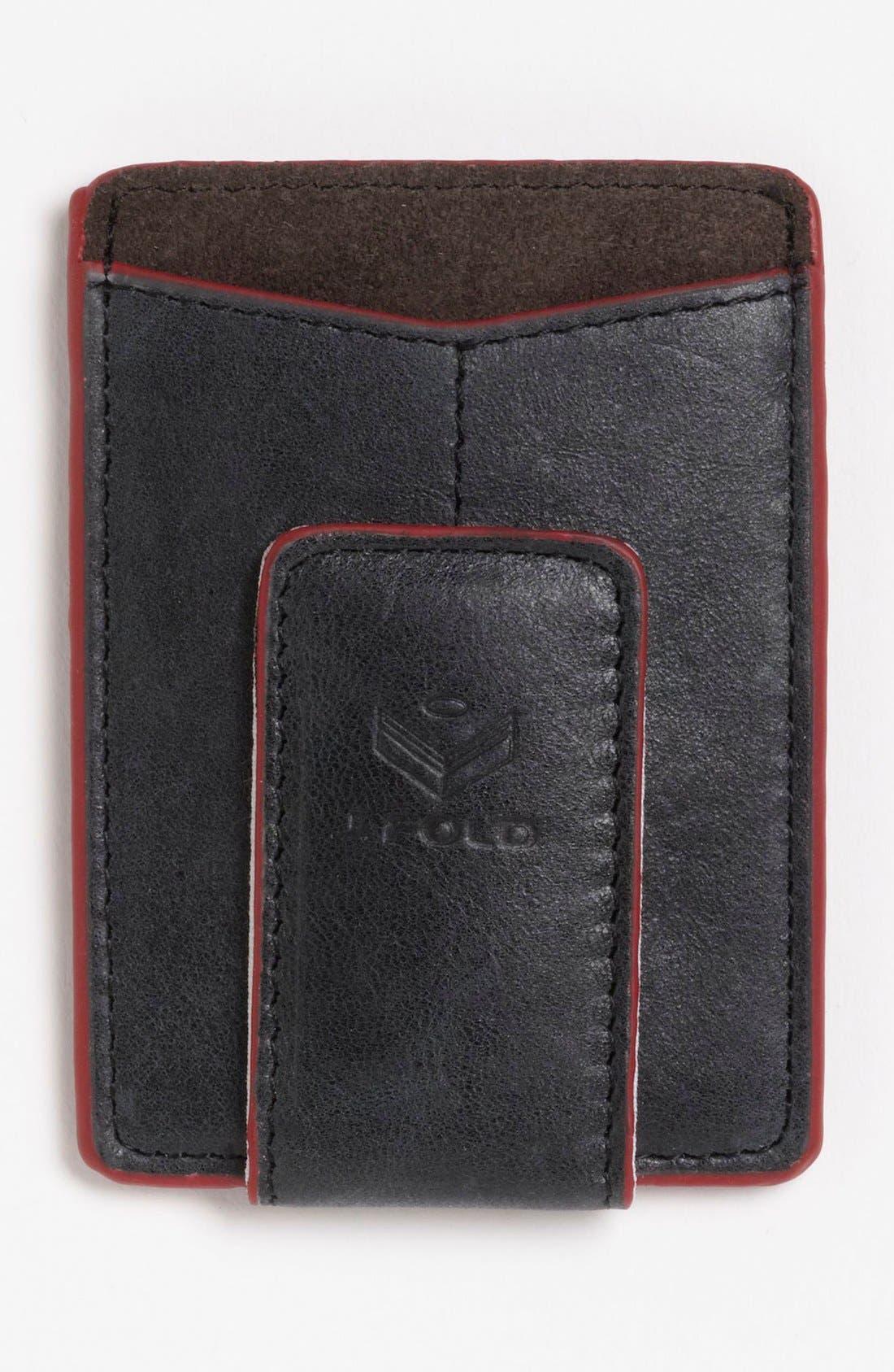 Main Image - J. Fold 'Smokestack' Money Clip Wallet