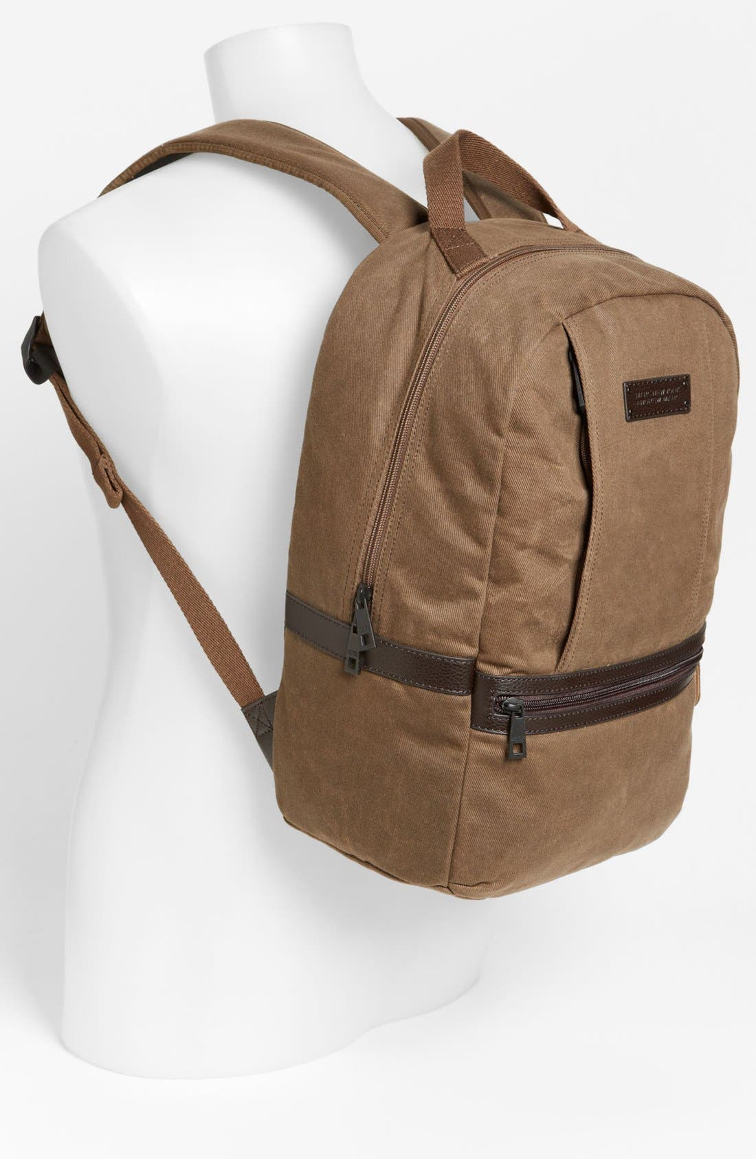 Alternate Image 4  - Andrew Marc 'Essex' Twill Backpack