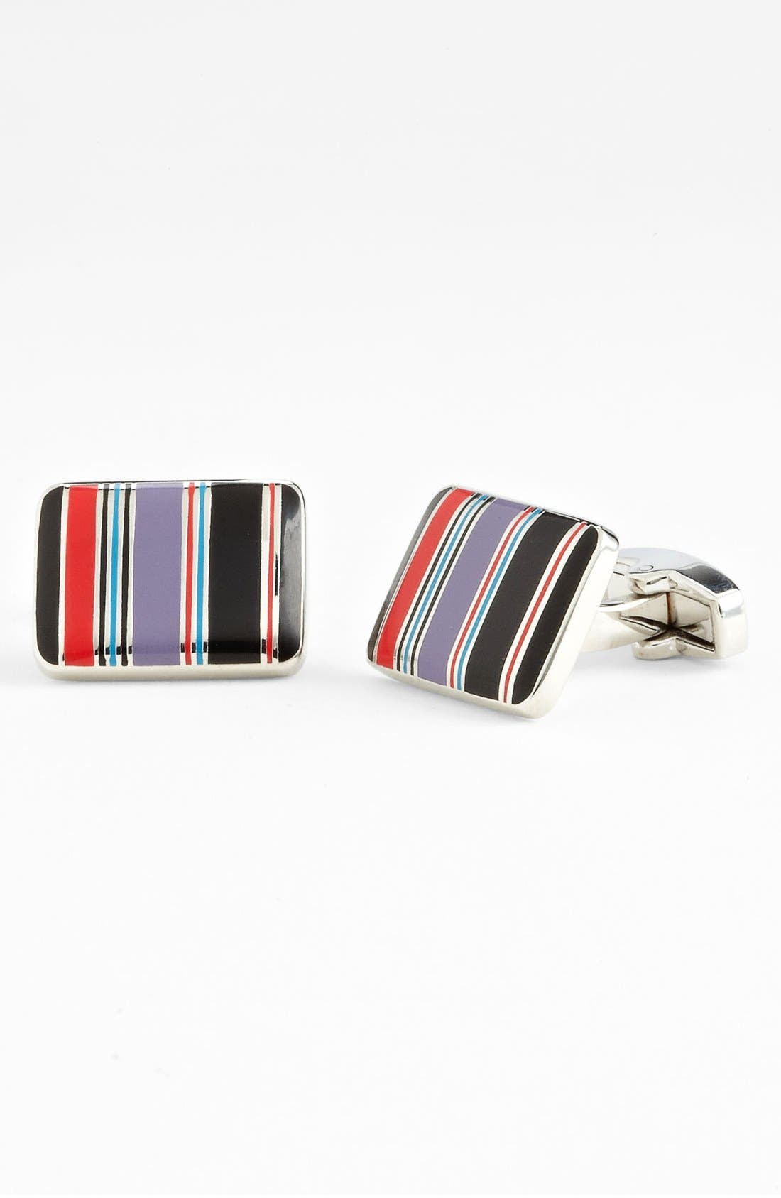 Main Image - Paul Smith Accessories Flash Stripe Cuff Links