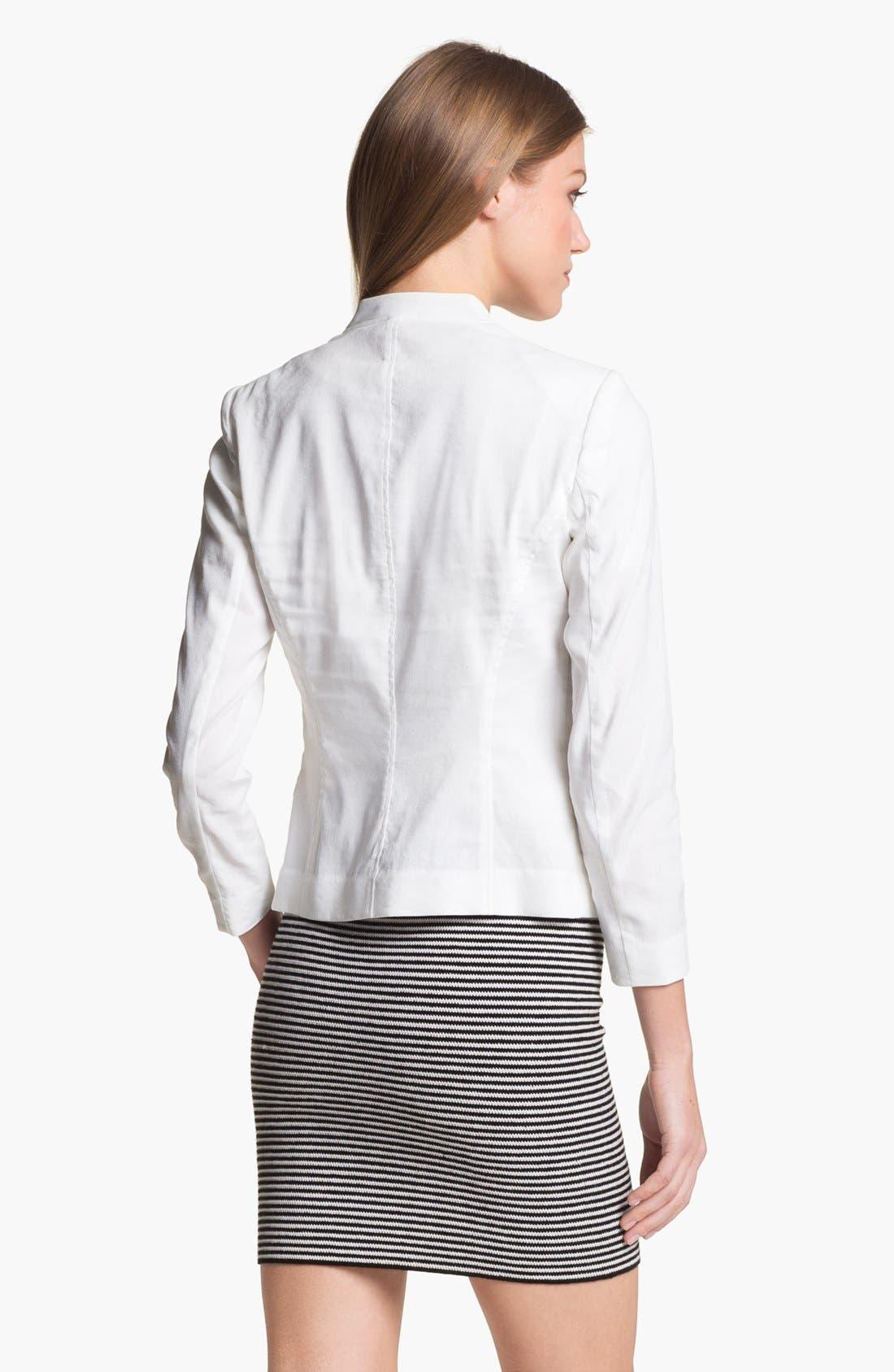 Alternate Image 3  - Theory 'Dalite' Linen Blend Jacket