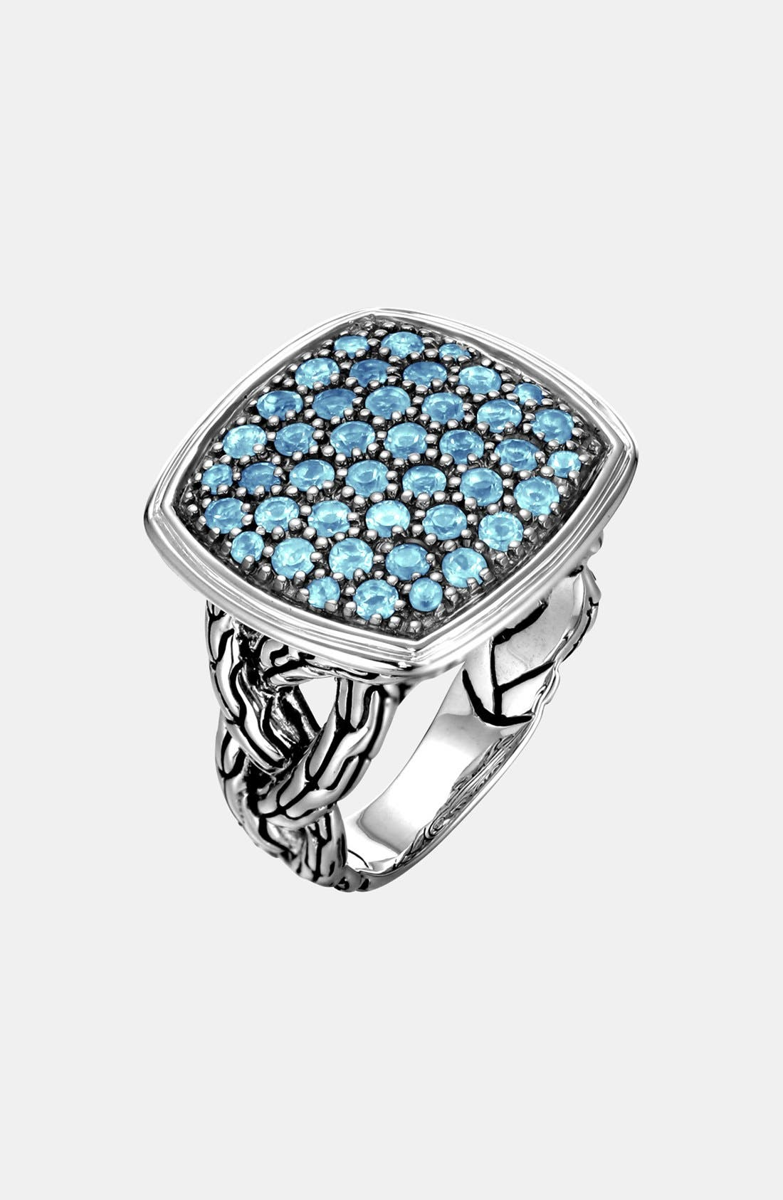 Alternate Image 1 Selected - John Hardy 'Classic Chain - Lava' Large Cocktail Ring