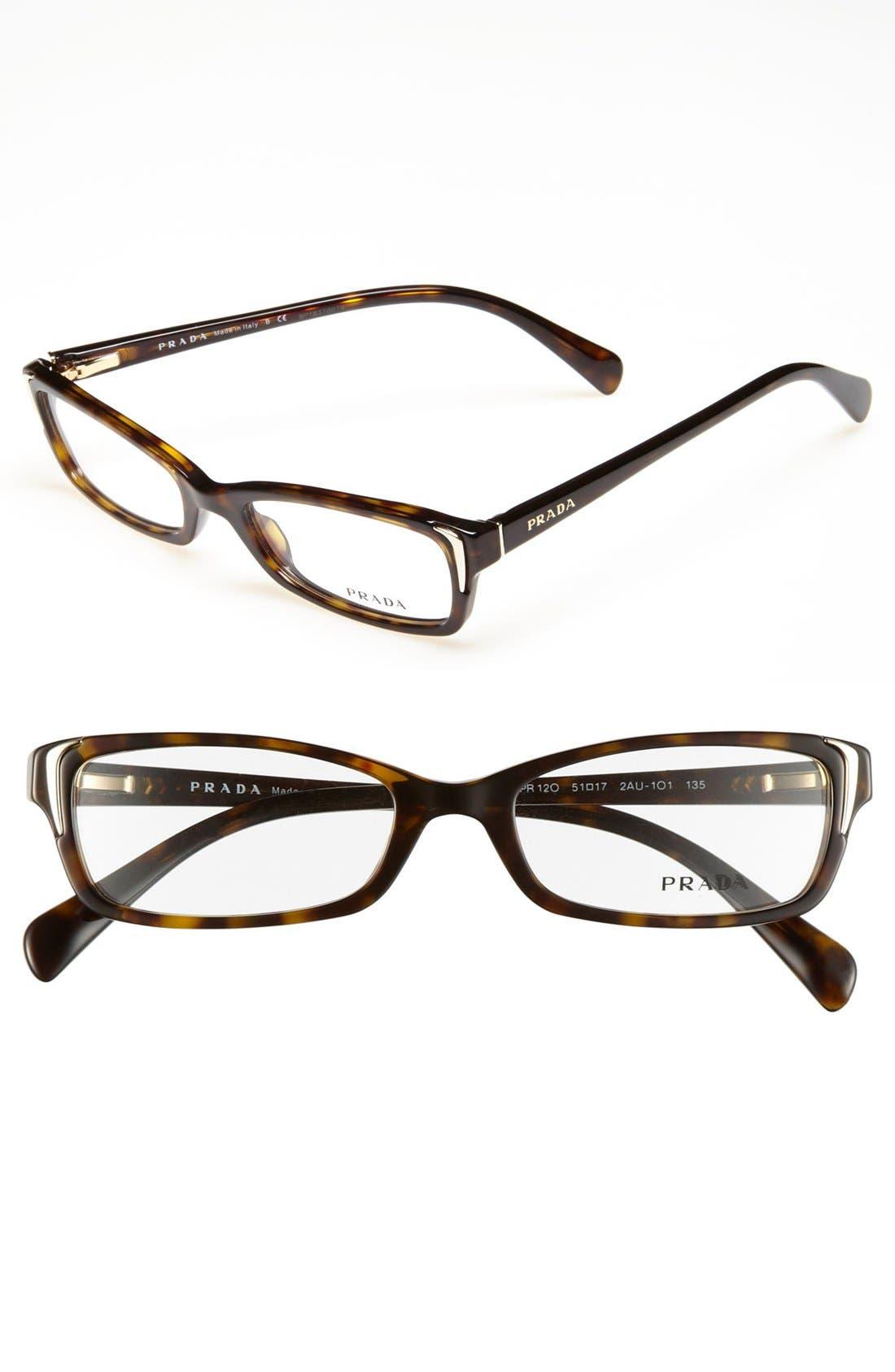 Alternate Image 1 Selected - Prada 51mm Optical Glasses (Online Only)
