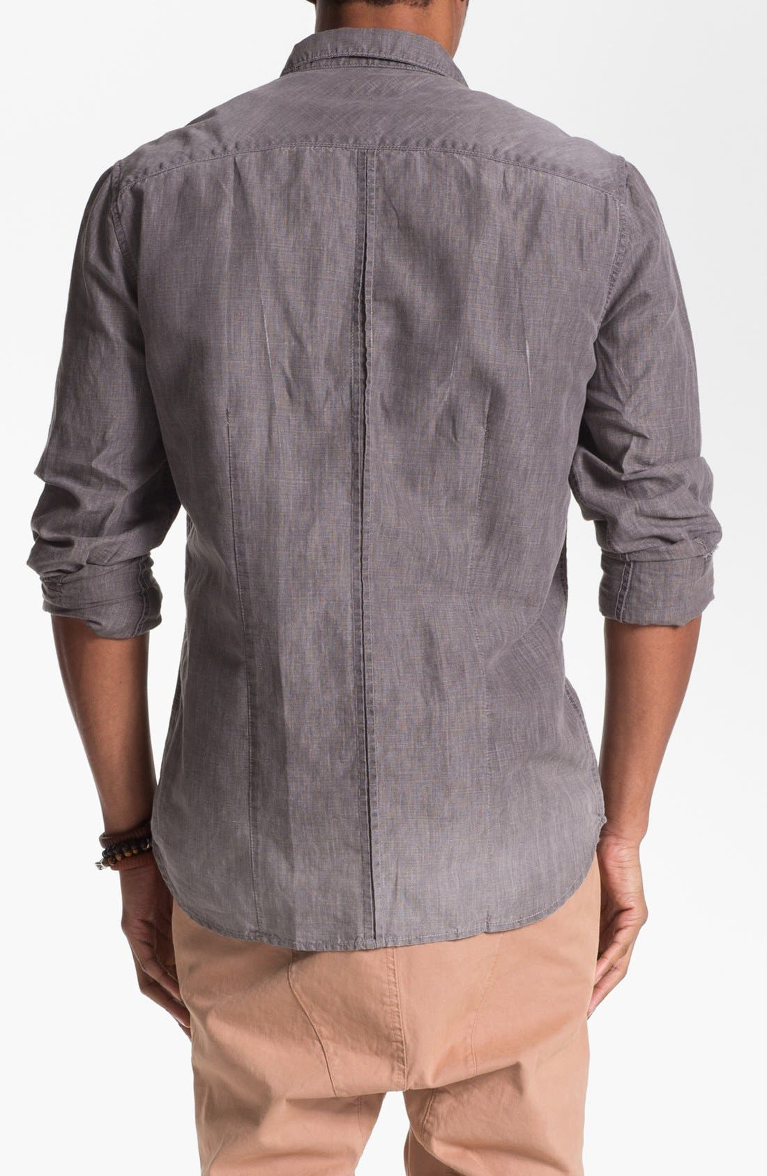 Alternate Image 2  - 7 For All Mankind® Cotton Linen Western Shirt
