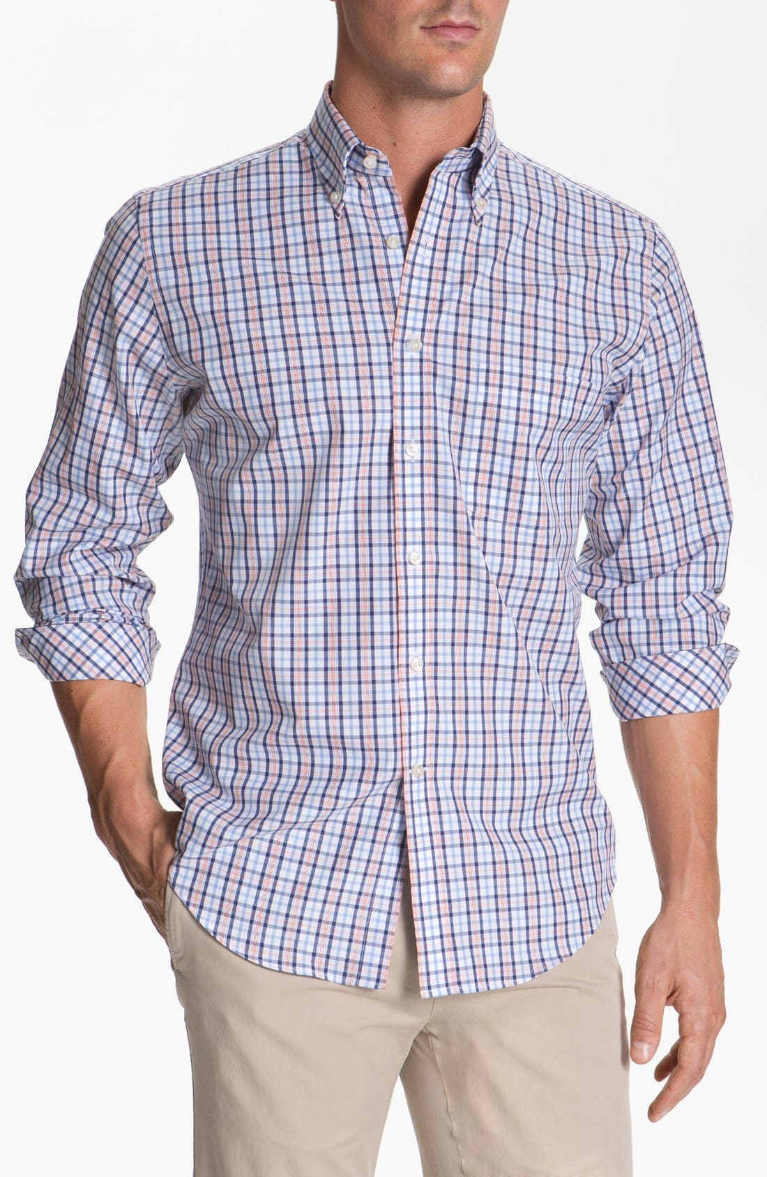 Alternate Image 1 Selected - Maker & Company Regular Fit Sport Shirt (Online Only)